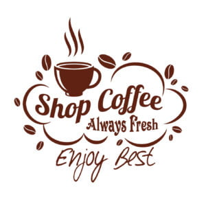 shop coffee logo