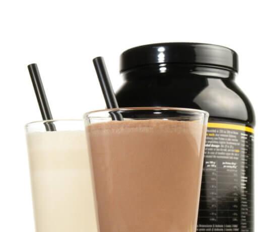 Fehérje shake - kakaó és vanília