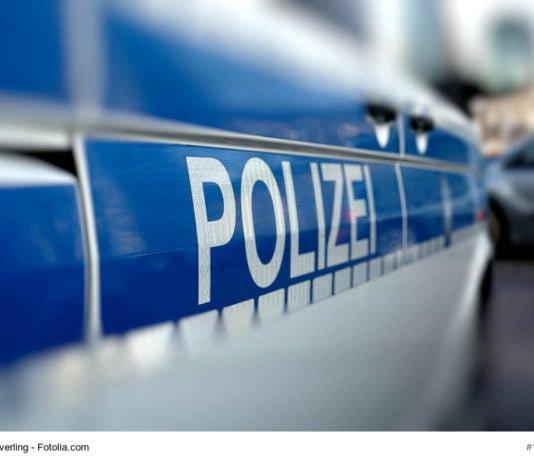 Polizeiauto στο δρόμο