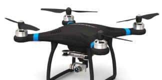 4K video camera ad pabula fucus et Quadcopter photo