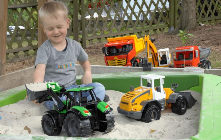 LENA Worxx konstruktionskøretøjer