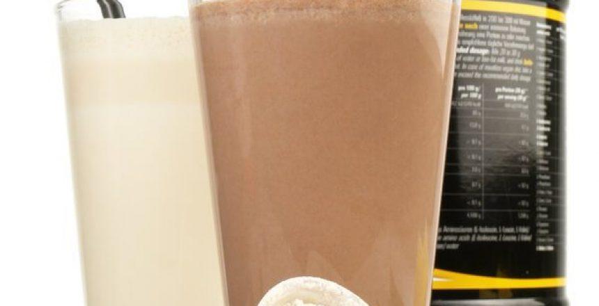 Proteinshake - Kakao und Vanille