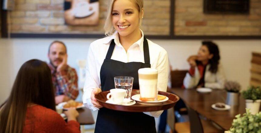 kaffee-kellnerin
