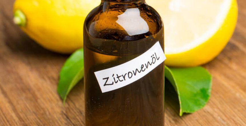 Zitronenoel Flasche